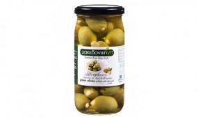 BUONO Grüne Oliven mit Mandeln 200g