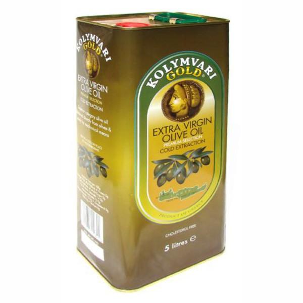 Kolymvari Gold Extra Natives Olivenöl 5 Liter