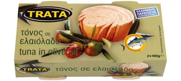 Thunfisch in Olivenöl Trata 2x160g