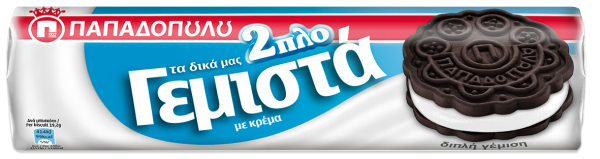 Papadopoulou Doppelkeks mit Vanille 200g