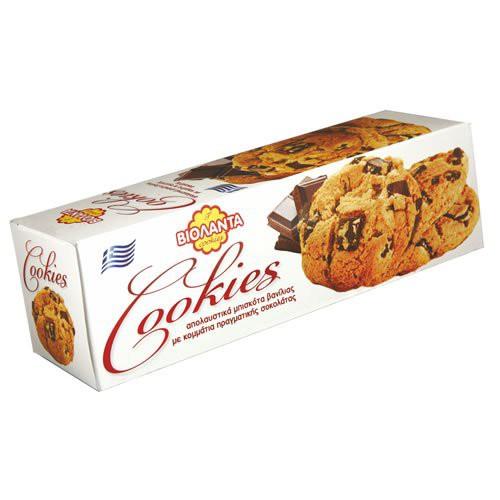 Violanta Vanille-Cookies mit Schoko 175g