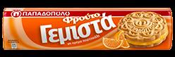 Papadopoulou Doppelkeks mit Orangencreme 200g