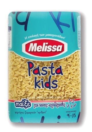 Melissa Pasta Kids Nummern 500 g