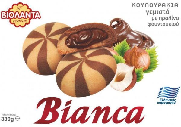 Violanta BIANCA Kekse Vanille-Kakao 330g