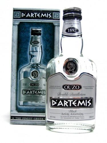 Dartemis Ouzo Black Vol. 46% 50 ml