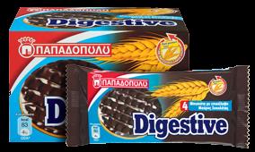 Papadopoulou DIGESTIV Vollkornkekse mit Bitterschokolade 250g