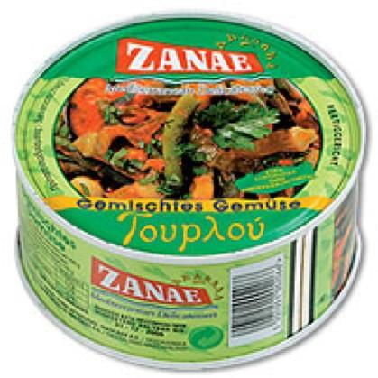 Zanae gemischtes Gemüse Tourlou 280 g