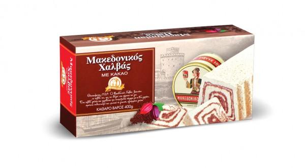 Halvas Makedonikos Haitoglou 400g Kakao