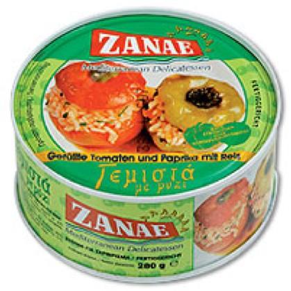 Zanae gefüllte Tomaten und Paprika mit reis280 g