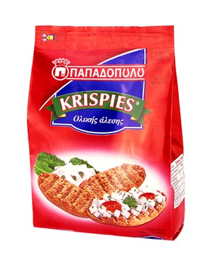 Papadopoulou Krispies Vollkorn 200 g