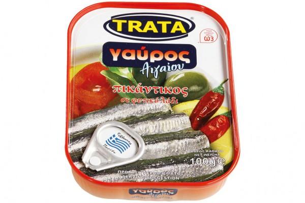 Sardellen in Picanter Sauce Trata 100g