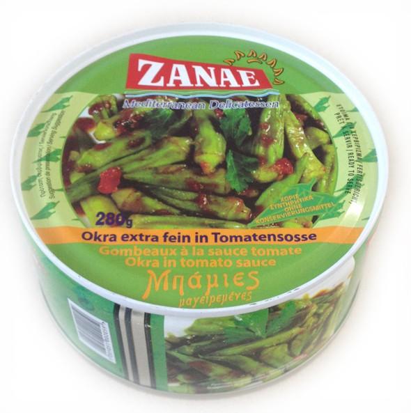 Zanae Okra in Tomatensosse 280 g