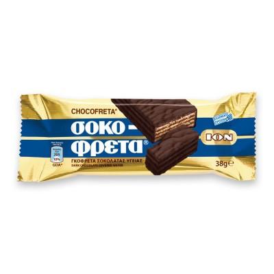 ION Sokofreta Zartbitterschokolade 38g