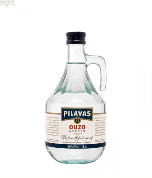 Ouzo Pilavas Karaffe 1000ml Vol. 40%
