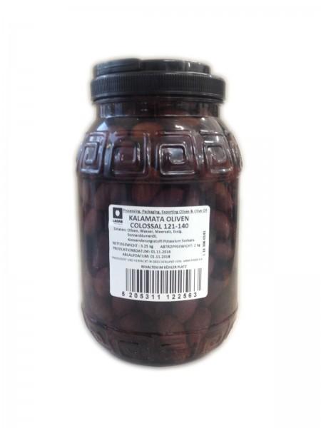 Kalamata Oliven 2kg Colassal (121-140)