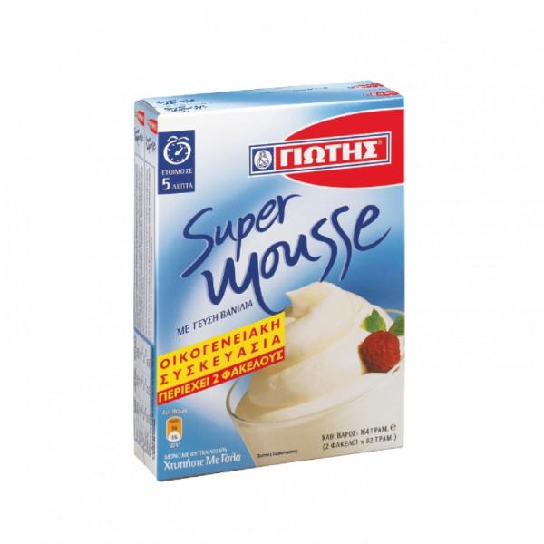 Jotis Mousse Vanille 164g