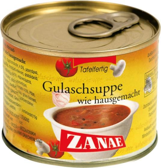 Zanae Gulaschsuppe 200 g