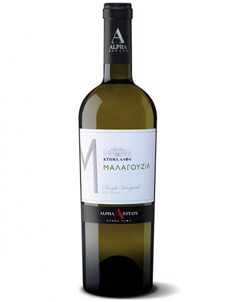 Malagouzia Weiß Alpha Estate 750 ml