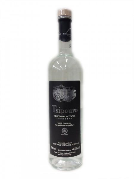 Katsaros Tsipouro 3000 ml Vol. 40% ohne Anis mit Hahn