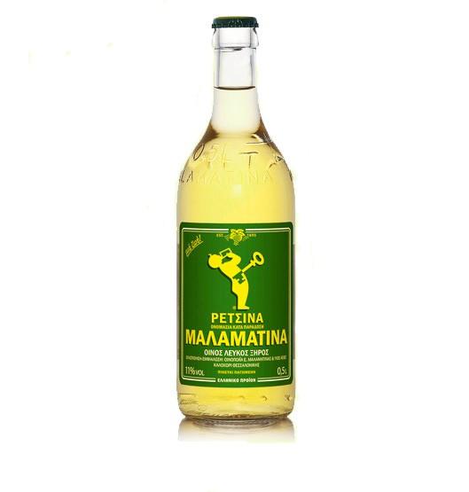Malamatina Retsina 24 x 500 ml