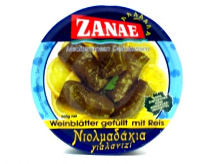 Zanae Gefüllte Weinblätter mit Reis 280 g